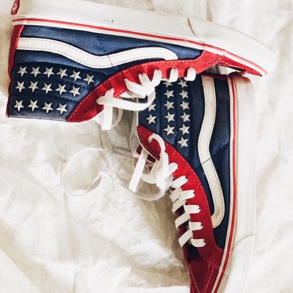 3219b566e16cf9 Vans American Flag. M 5bdf914b1b3294eb7b83e3e0